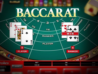 Online Baccarat Main Image