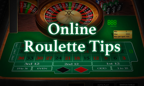 Online Roulette Tips - Strategies for Placing Winning Bets